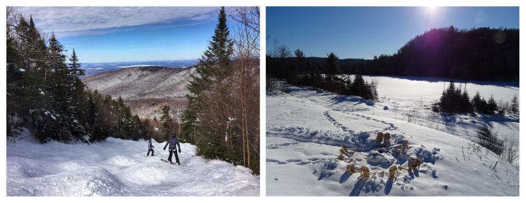 Aimer la neige au Quebec